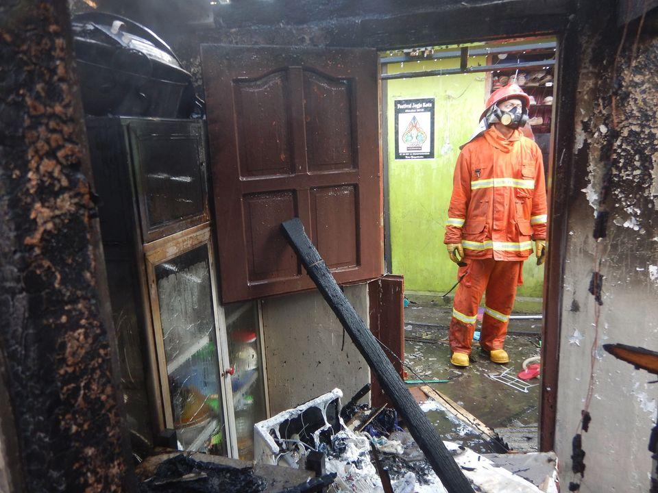 Kebakaran Rumah Tinggal Di Ngadiwinatan Yogyakarta